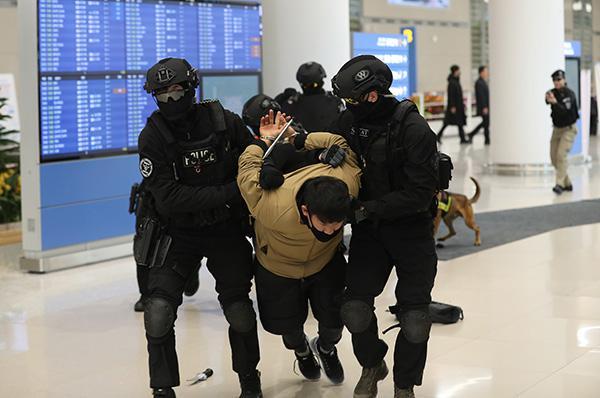 韩国明起上调反恐预警级别保冬奥安全 6日再次上调