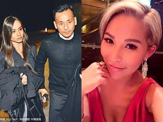 周焯华传出为了安抚陈慧玲(右),禁止Mandy(左)回香港