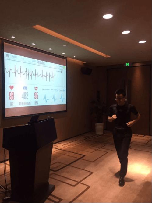 神念科技冯华:心脏实时监测 有效数据保障马拉松顺利进行