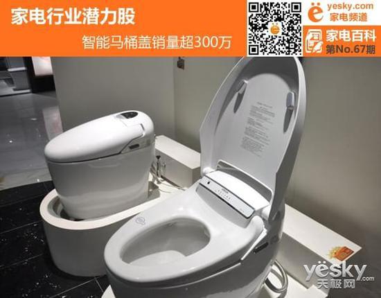 行业背景: 中国陶瓷工业协会智能卫浴分会秘书长表示,去年不少卫浴企业智能马桶盖销量翻番增长,甚至3倍增长。而他引用的一组数据是,目前国内智能马桶盖的普及率在5%以内,而在韩国、日本,智能马桶盖的市场普及率是在90%左右。据其透露,去年全年智能马桶盖的销量在300万套以上。也就是说,越来越多的家庭,开始接受智能卫浴的概念,并开始着手使用。 就国人到国外购买马桶盖这一现象,我们找到了不少市场存在的问题。首先,国内消费者还没得到充分教育,到日本采购智能马桶盖的只是部分消费者,并没有形成大规模的群体。其次,