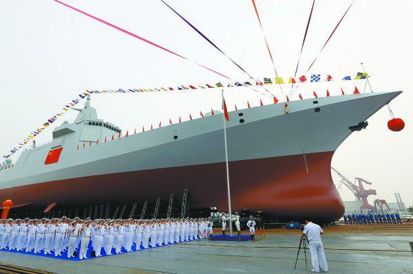 港媒盘点055驱逐舰特性 可与亚洲的其他军舰抗衡
