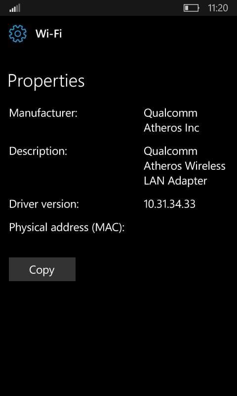 Windows 10红石2移动版采用类似PC版的Wi-Fi设置界面的照片 - 4