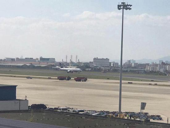 阿斯塔纳航空飞机因故障盘旋厦门上空 已成功降落