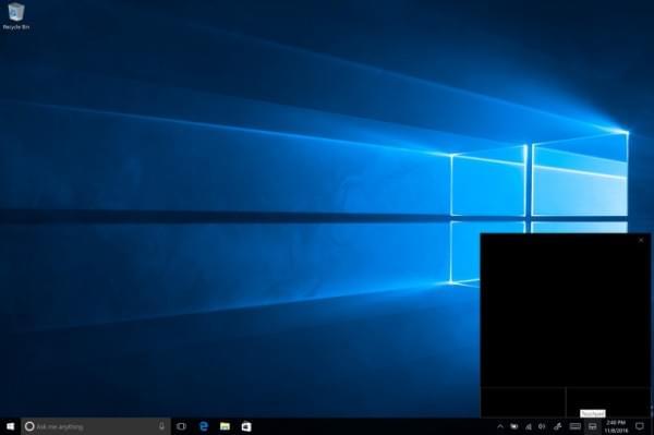 Windows 10 Build 14965 预览版开始推送的照片