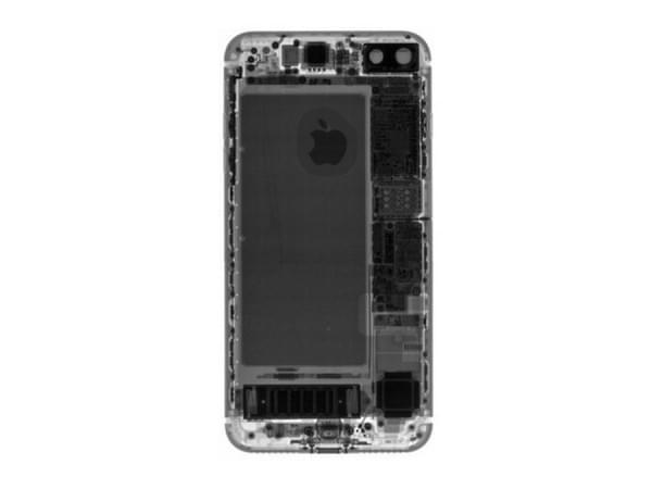 iPhone 7 Plus拆解:2900mAh容量电池的照片 - 6