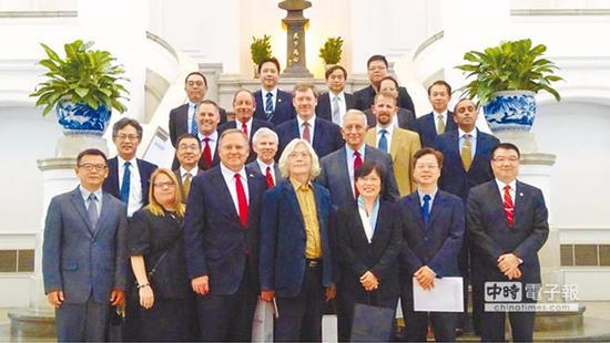 美国前官员出席台美国防论坛 台媒:层级如此之低