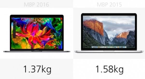 前后两代13英寸MacBook Pro规格参数对比的照片 - 3