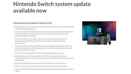 任天堂Switch系统更新 增加家长控制依然没有中文[多图]图片2