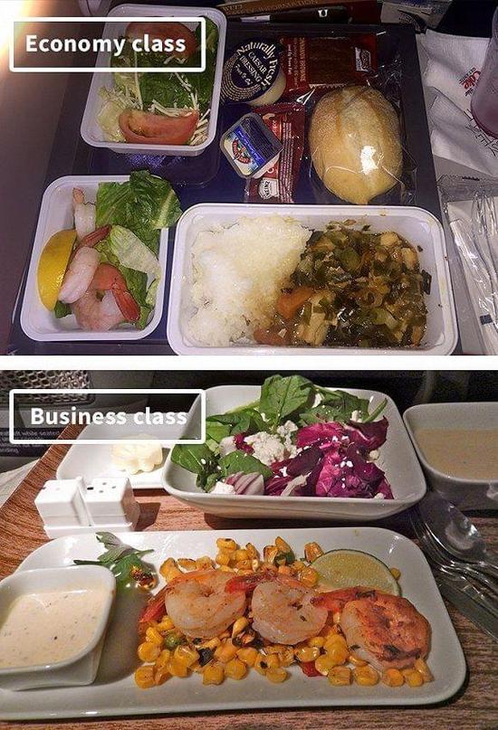 达美航空飞机餐.界面新闻