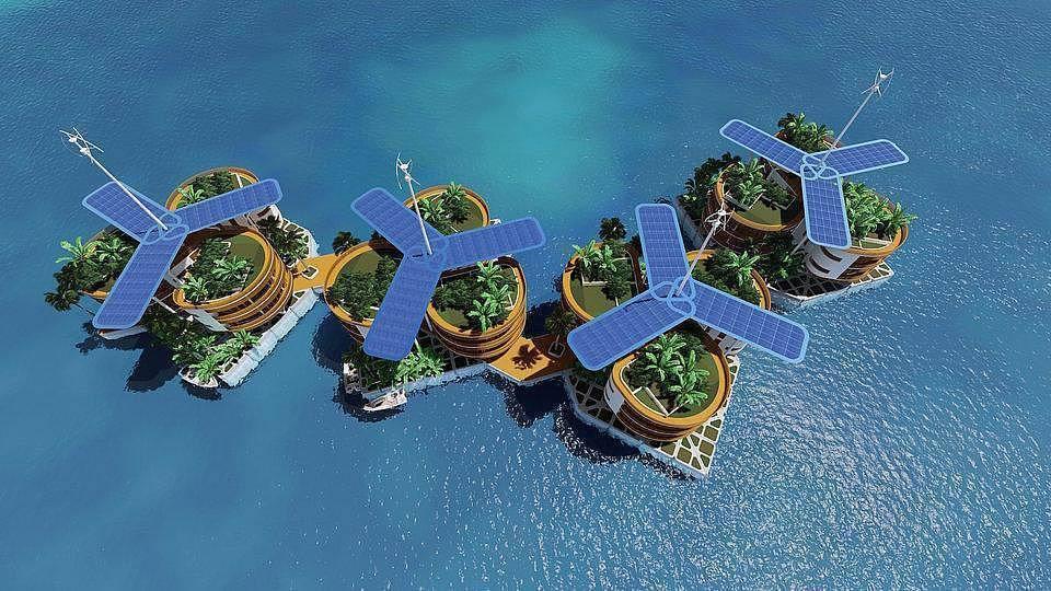 世界首个浮动城市在2022年建成?还要发币募资