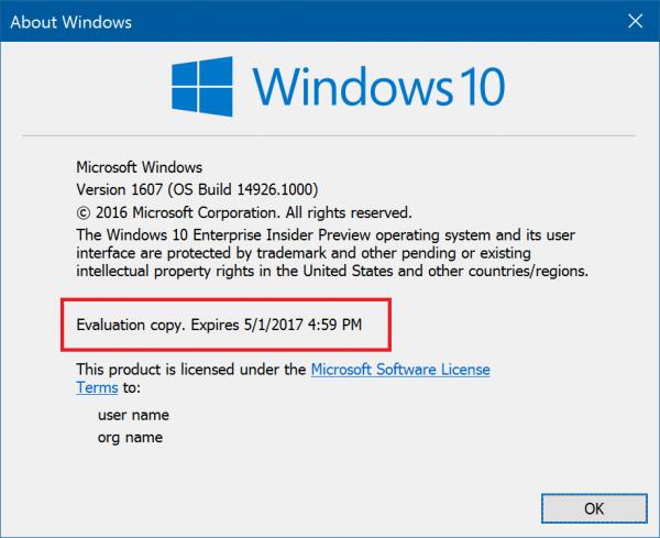 Fast通道和Windows 10旧版本说拜拜:10月15日将无法启动的照片 - 2