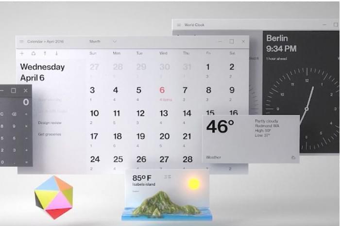这是你要的毛玻璃特效:Fluent Design桌面和应用一览的照片 - 1