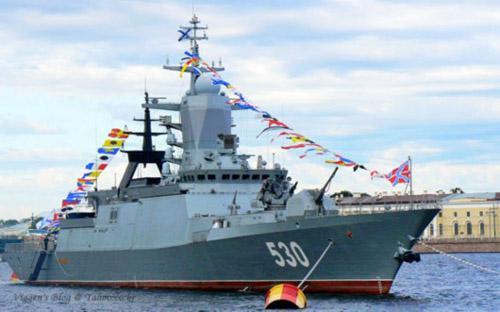 俄轻护舰变身机器人  发现摧毁全由电子大脑控制