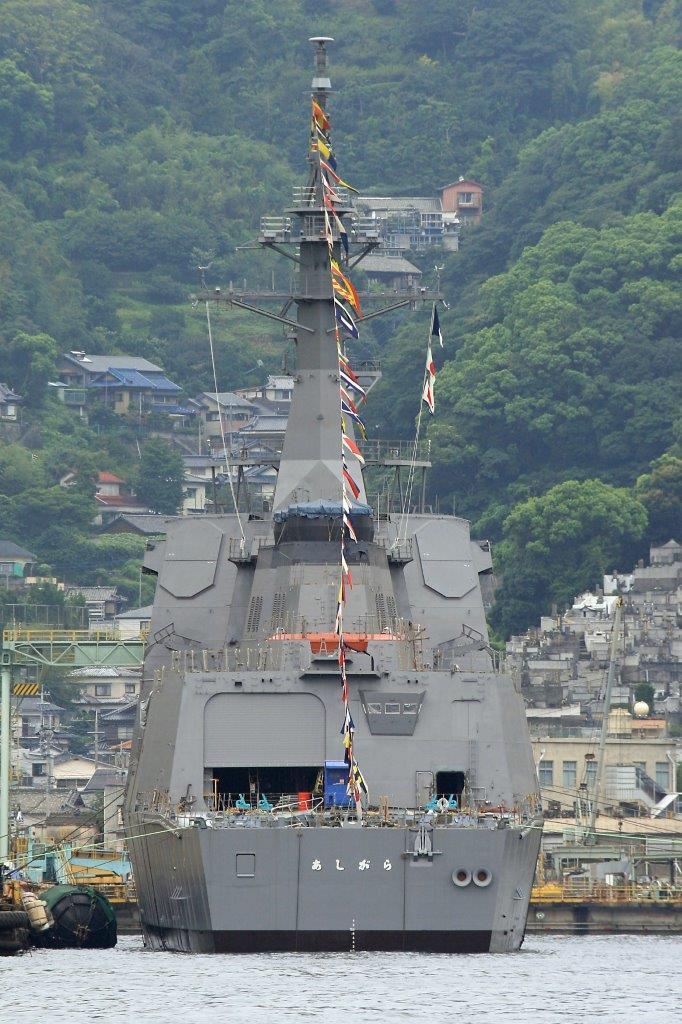 日最新宙斯盾舰值得警惕 一设备被指针对中国