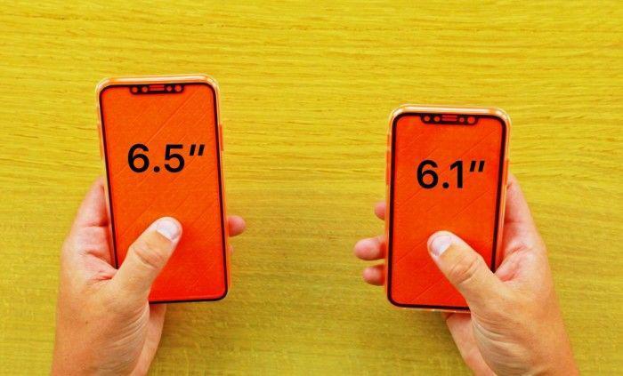 国外大神上手6.5英寸iPhone X Plus机模、贴膜和保护套