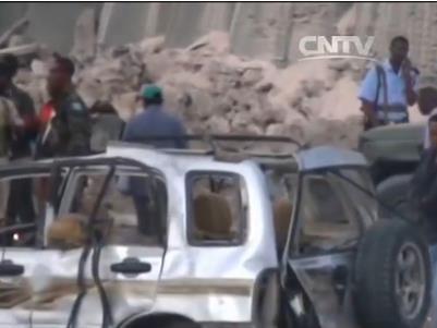 索马里总统府附近发生爆炸 政府人员或为目标