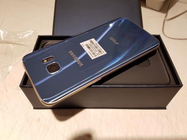 珊瑚蓝版Galaxy S7 edge开箱的照片 - 9