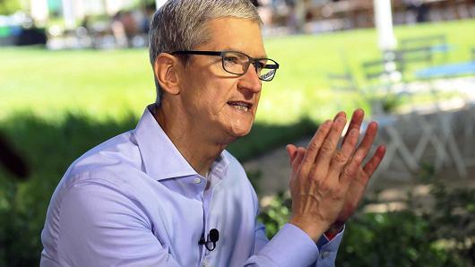 苹果Q2大中华区营收增21% 库克:iPhone