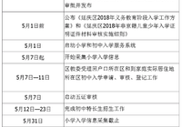 北京市延庆区2018年义务教育阶段入学工作方案