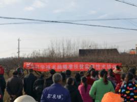 随县科技局到唐县镇开展精准扶贫实用技术培训