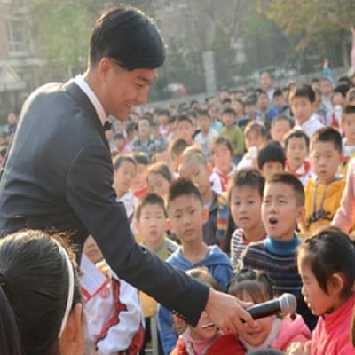 河北省艺术民乐团走进国际城小学