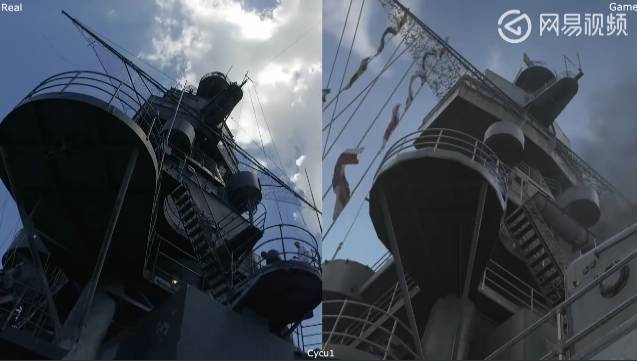 COD14神还原二战名舰 船舱里的拖把都做给你看