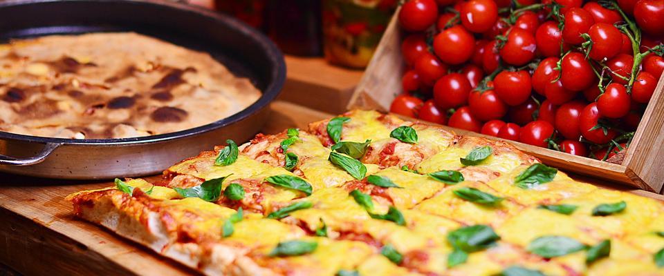 你误会意大利披萨了!