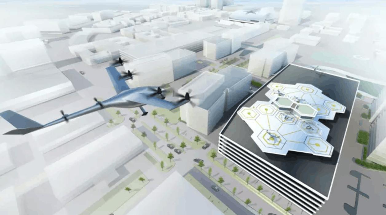 Uber称飞行汽车2020年试运营:全电动+垂直起降