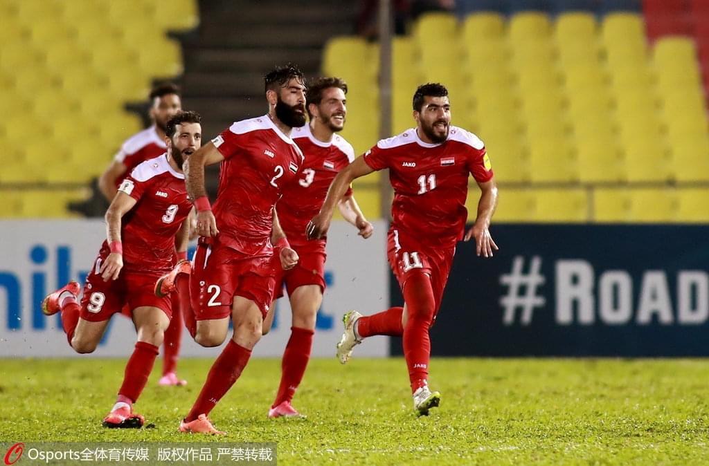 叙利亚失3獠牙都拿他没辙 国足还幻想啥世界杯?