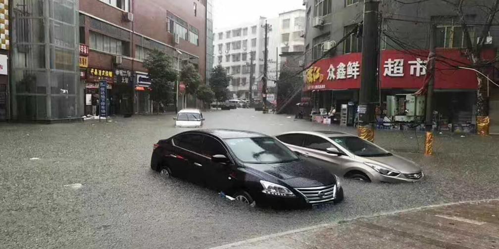 咸宁崇阳6.23洪灾