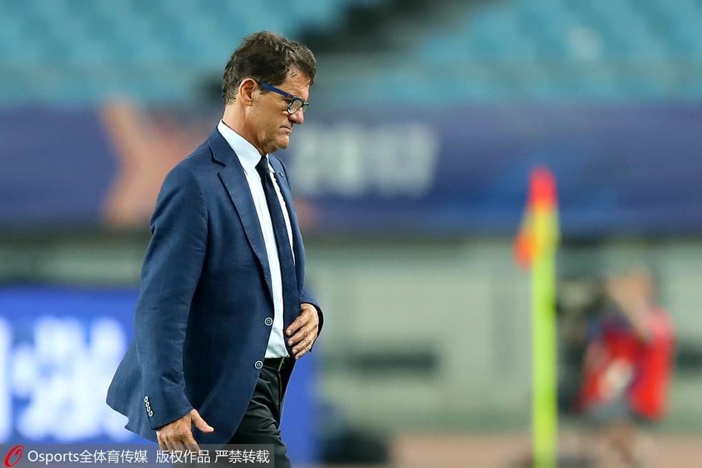 卡佩罗:苏宁好几次机会没把握住 球队未来可期待