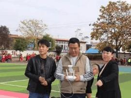 陕州区航模协会到区第二小学开展航模表演展示活动