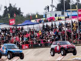 北京汽车越野世家车队出征COC怀柔站比赛