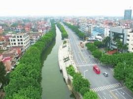 九江镇环保成绩单:昔荒芜滩涂 今湿地公园