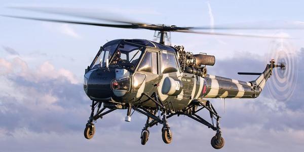 航空爱好者拍直升机大片