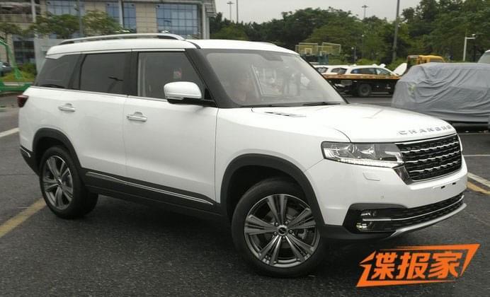 全新紧凑SUV 昌河Q7广州车展展前现身
