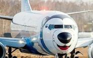 航空公司把飞机涂成哈士奇
