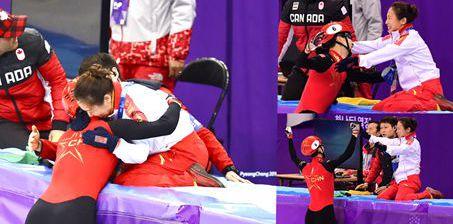 这份激动都能懂! 武大靖与李琰教练激情拥抱