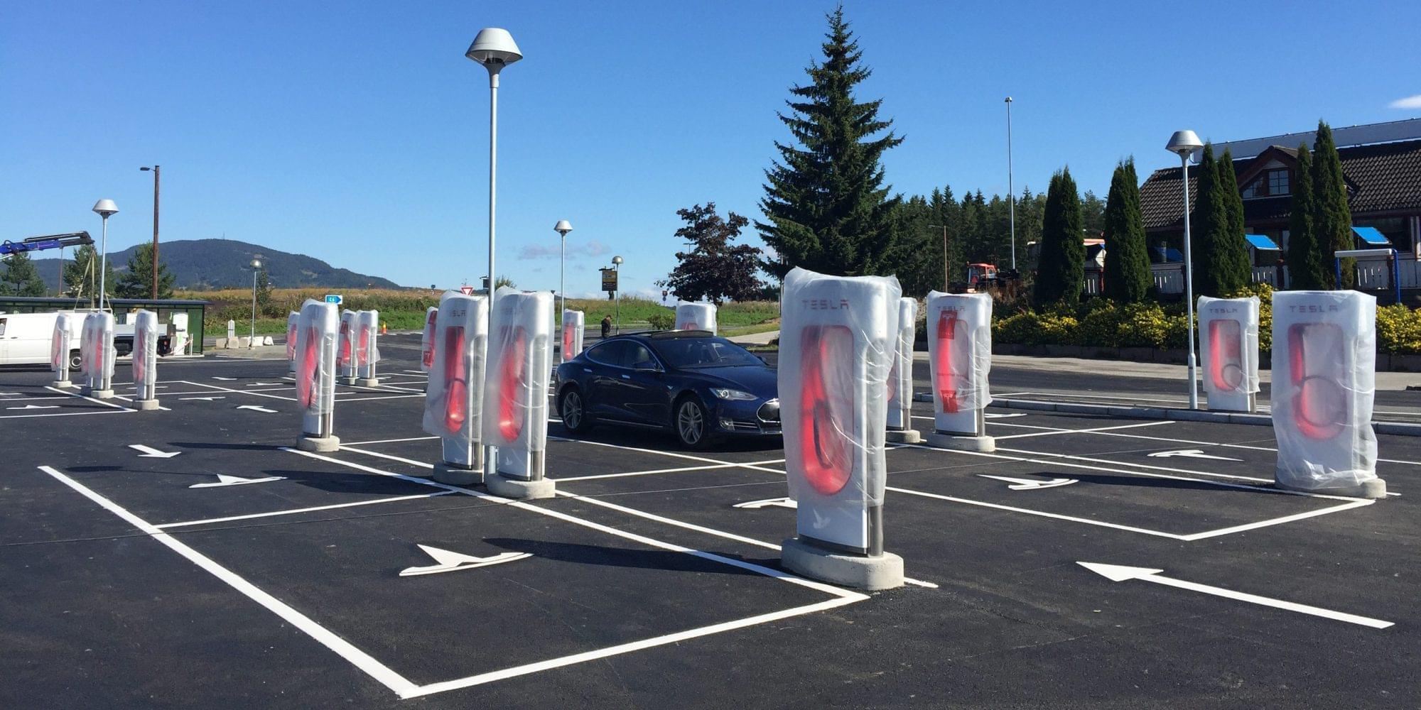 应对Model 3大量上市 特斯拉加速扩建充电网络