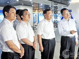 刘志宏朱鹏率运城市党政考察团在京考察对接项目