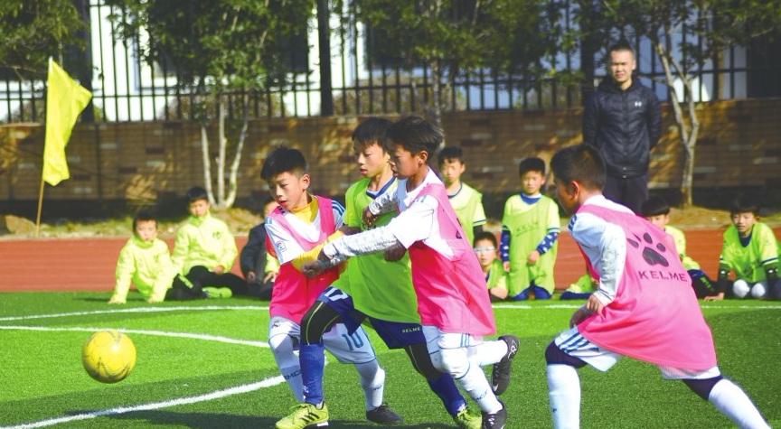 永康市校园足球 扬帆起航