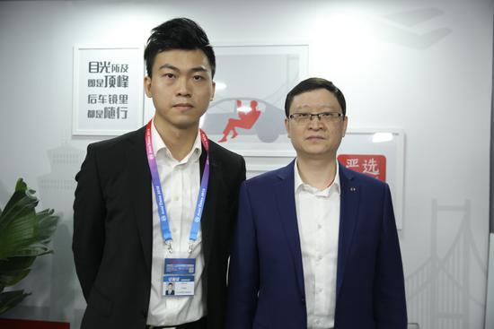 网易汽车主持人与广汽新能源汽车有限公司副总经理肖勇
