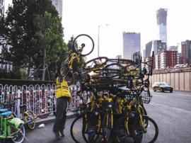 北京市共享单车停增背后:4个多月增165万辆
