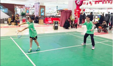 小选手挑战明星 长三角第三届羽毛球团体邀请赛