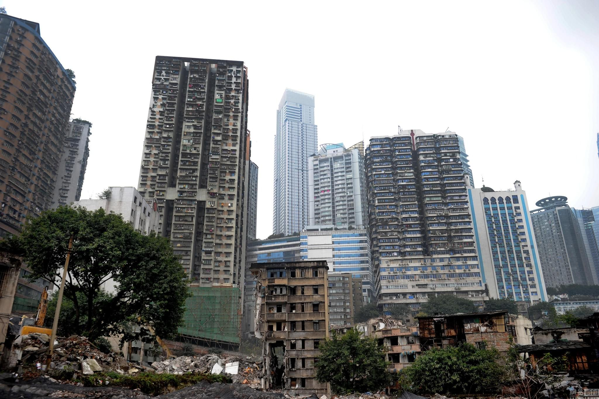"""即将消失的风景 探访重庆""""十八梯""""老街"""