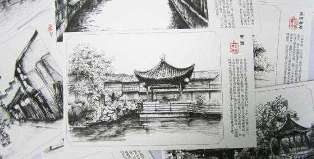 看国际青少年手写绘明信片展 找儿时记忆