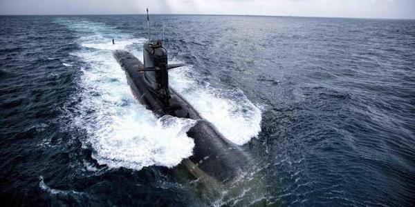 印度国产潜艇参加印法联合军演