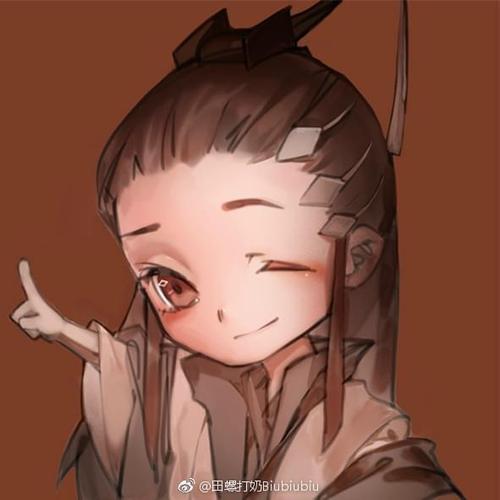 剑网3玩家手绘 给你小心心q版纯阳头像分享