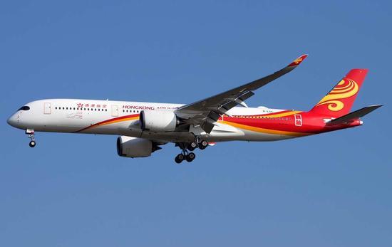 香港航空开通香港直飞洛杉矶航线