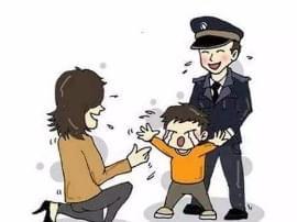 盐湖交警:寒冬中的温暖帮迷路幼童找家人